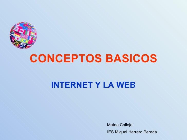 Conceptos Basico Sinternet