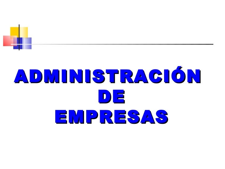 Conceptos de administraci n y organizaci n de empresas for Concepto de organizacion de oficina