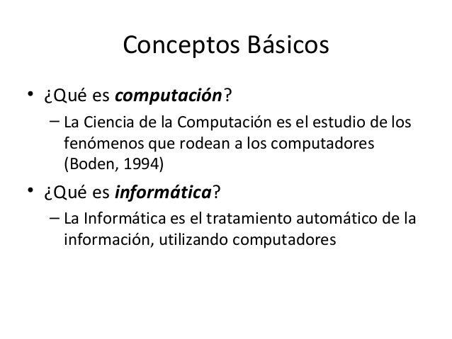 Informatica1 CONCEPTOS BASICOS DE INFORMATICA