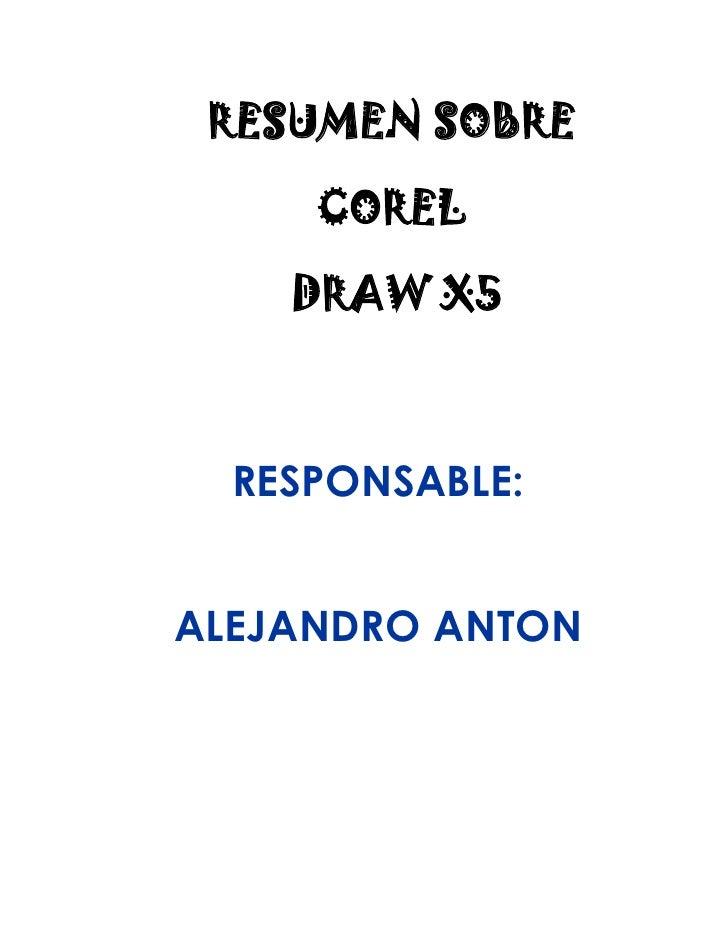 Conceptos básicos de corel draw