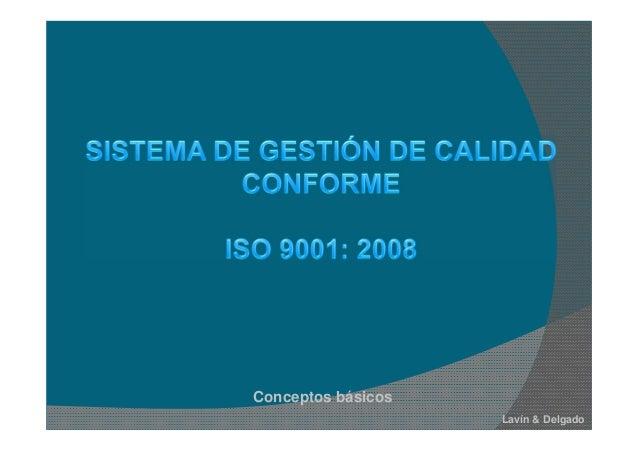 Conceptos básicos Lavín & Delgado