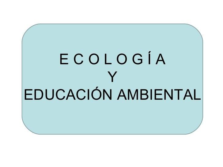 Conceptos ecológicos