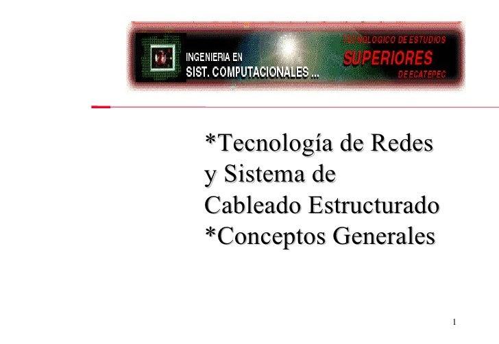 Conceptos Generales De Redes