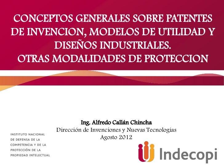 Patentes y Diseños