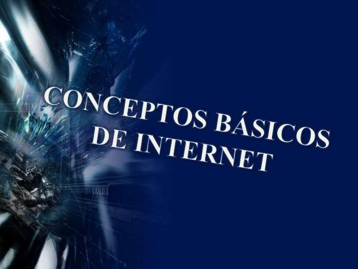 Conceptos internet