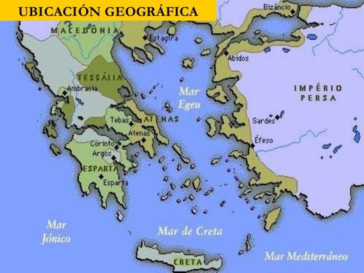 Cultura griega ubicaci n geografica for Cultura de la antigua grecia