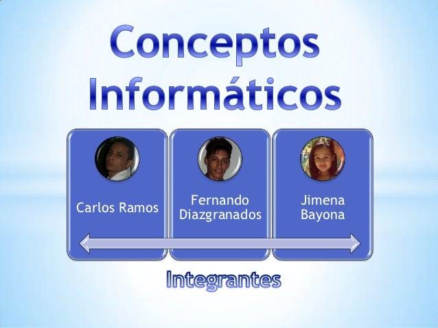 Fernando     JimenaCarlos Ramos               Diazgranados   Bayona