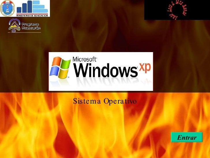 Sistema   Operativo Entrar