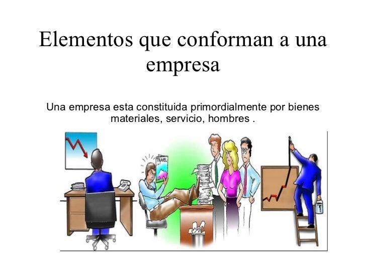Conceptos y elementos de la empresa for Que es trabajo de oficina