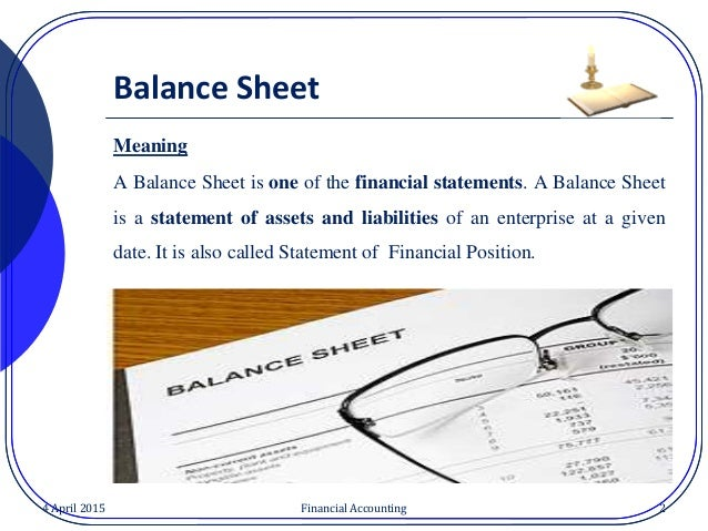Image result for balance sheet contents