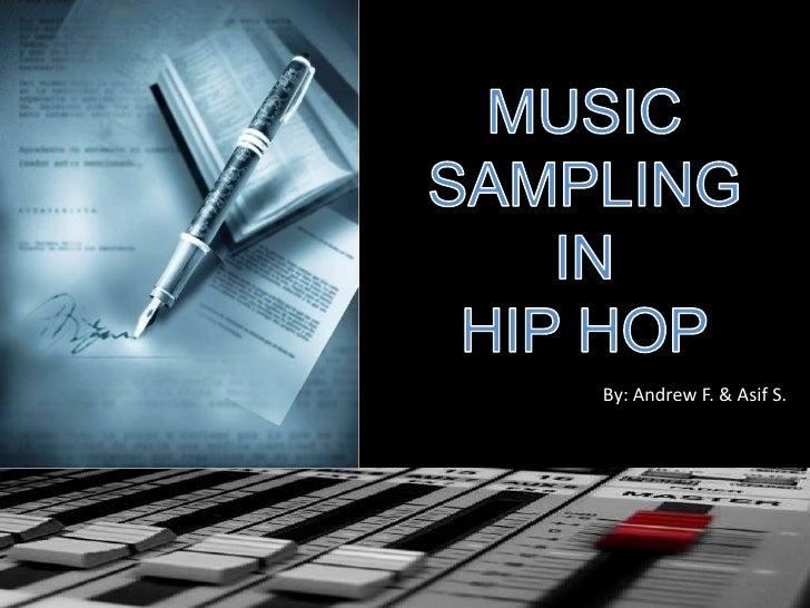 Music Sampling in Hip Hop