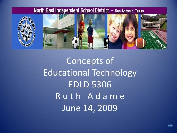 Concepts Of Educational Technology