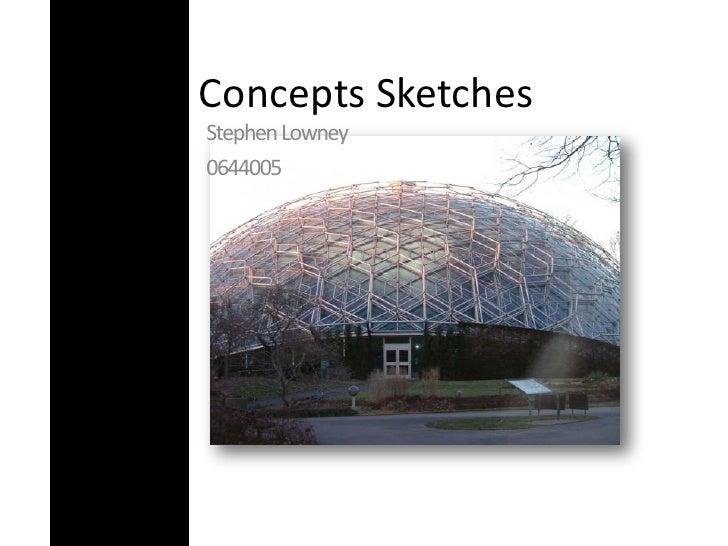 Concepts Sketches