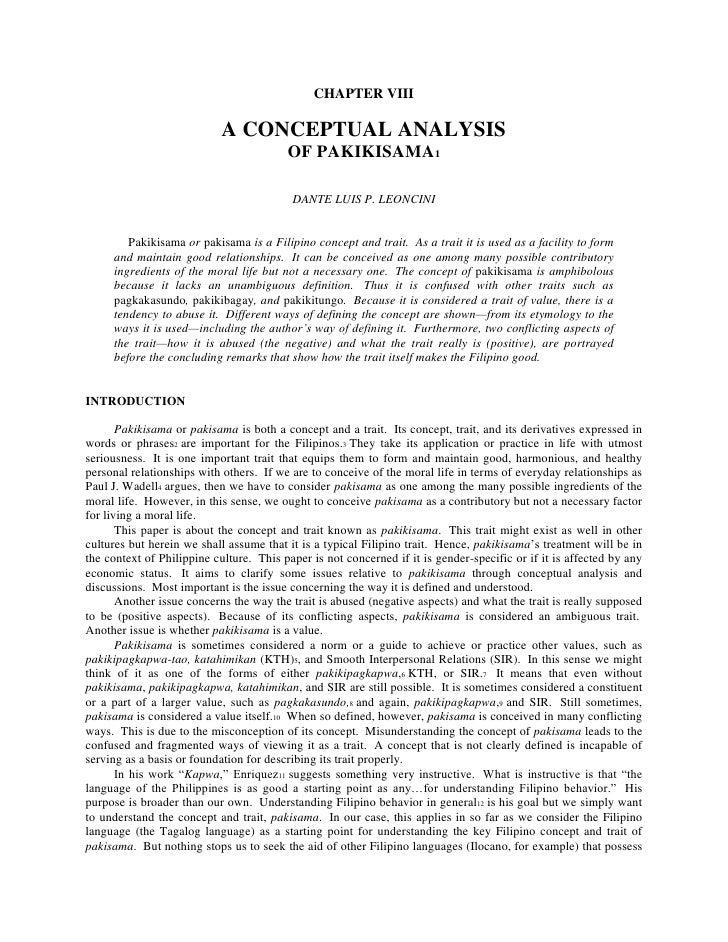 ambivalence of filipino traits and values Valuesclarification 1 review the fourfold base of filipino values the ambivalence of filipino traits and values.
