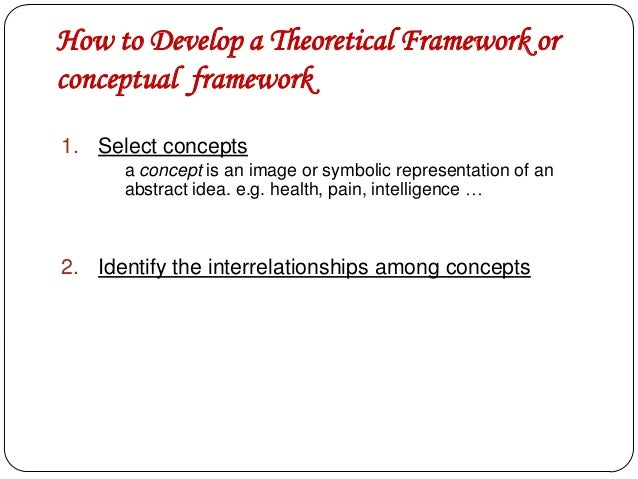 Conceptual framework research paper