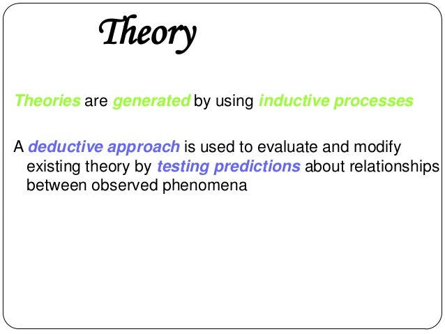 Definition of theoretical research