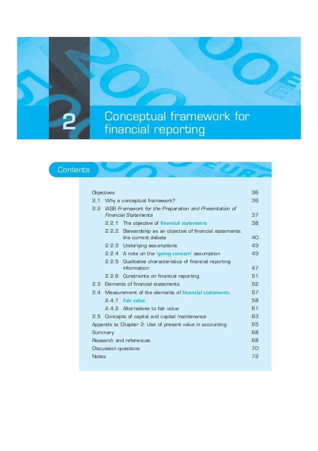 Conceptual framework for2               financial reportingContents           Objectives                                  ...