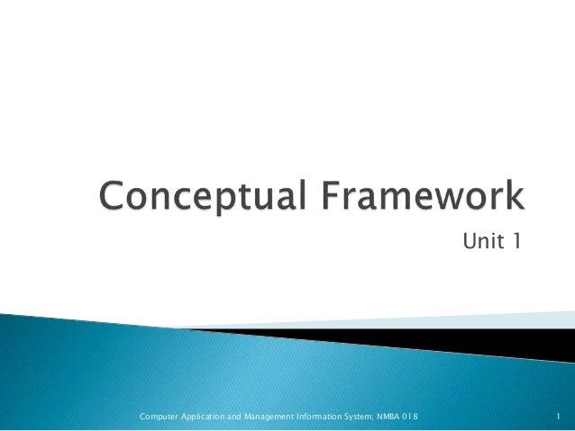 Conceptual framework thesis sample