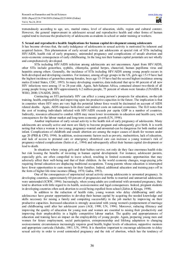 research paper about sex education
