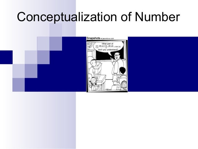 Conceptualization of Number