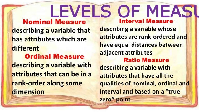 Conceptualization, Nominal definition, and operationalization measures.?