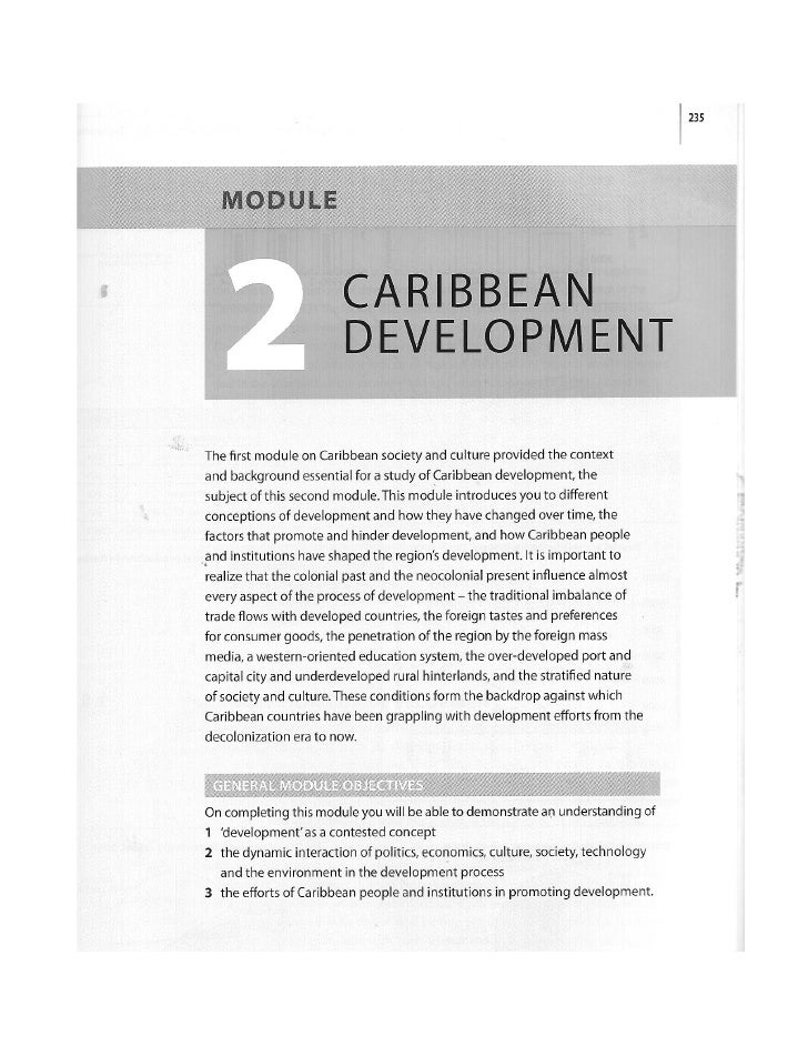 Conceptualizing development