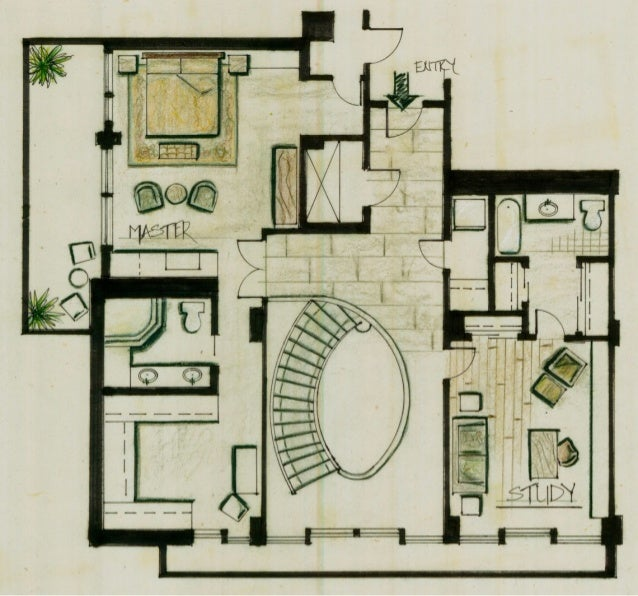 Conceptual loft design boards second floor plan 2nd floor loft ideas