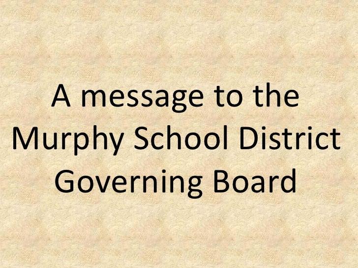 Murphy School District