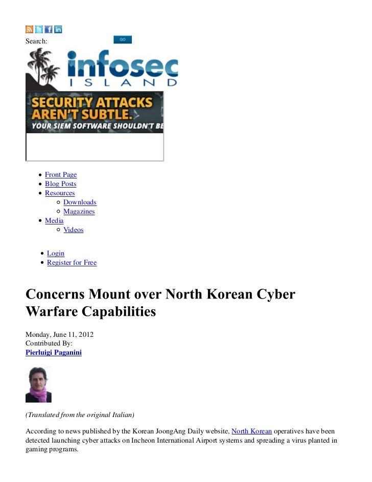 Concerns mount over north korean cyber warfare capabilities (1)