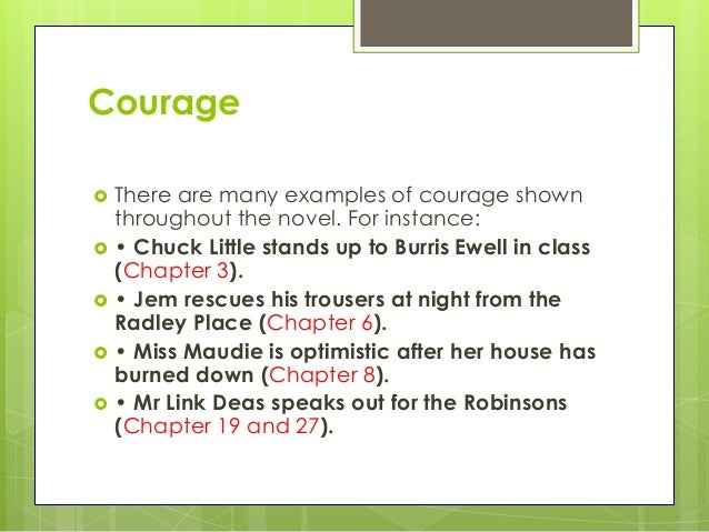 to kill a mockingbird theme courage Get everything you need to know about courage in to kill a mockingbird  analysis, related quotes, theme tracking.
