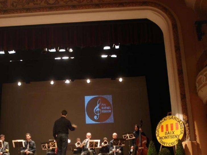 Concert de Cap d'Any 2 -1-11 Cobla Sant Jordi - Ateneu Sant Celoni - Agrupació Sardanista Baix Montseny