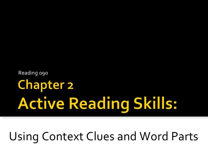 Context clue overview