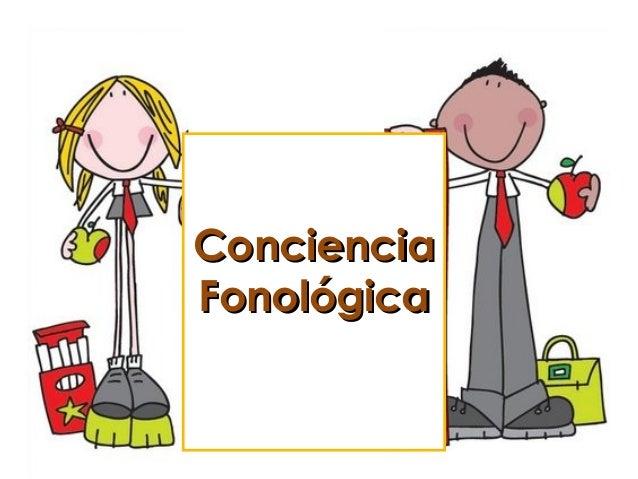 Resultado de imagen de conciencia fonologica