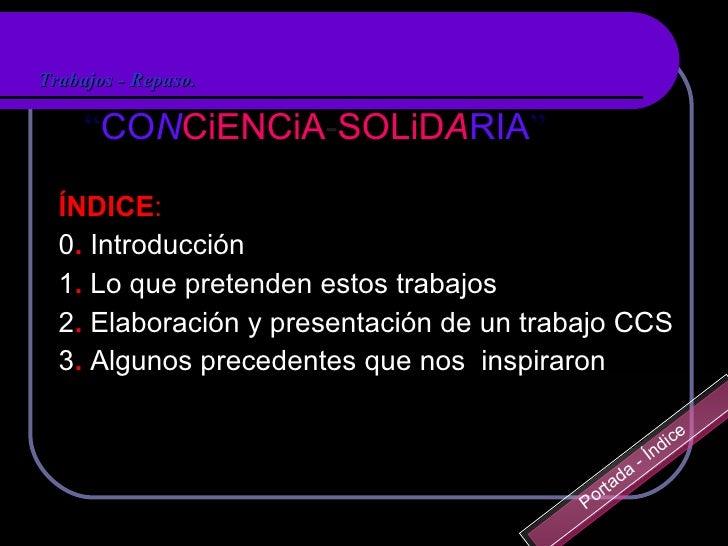 CONCiENC-SOLiDARIA impuls 2010 sencillo.ppt