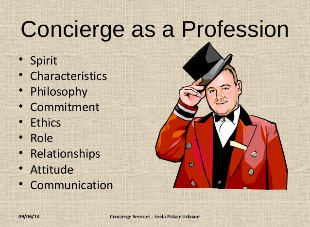concierge means