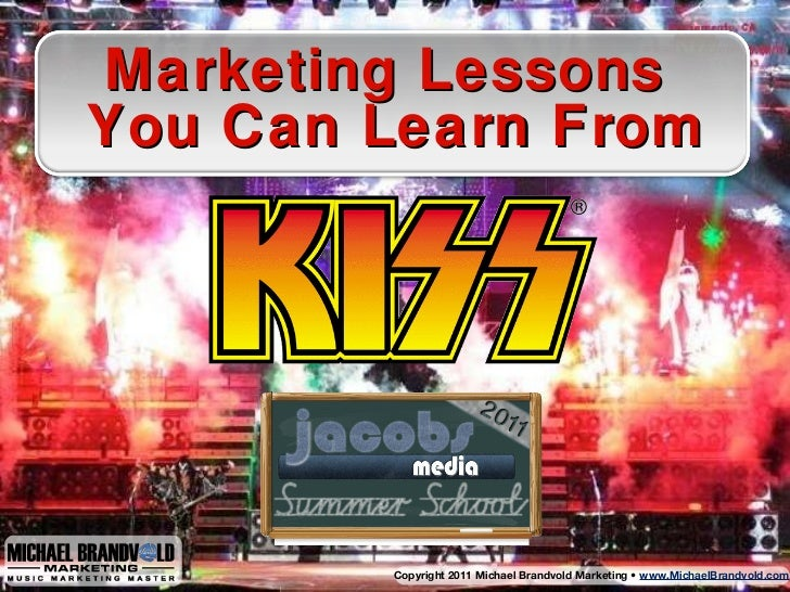 Marketing Lessons  Y ou Can Learn From