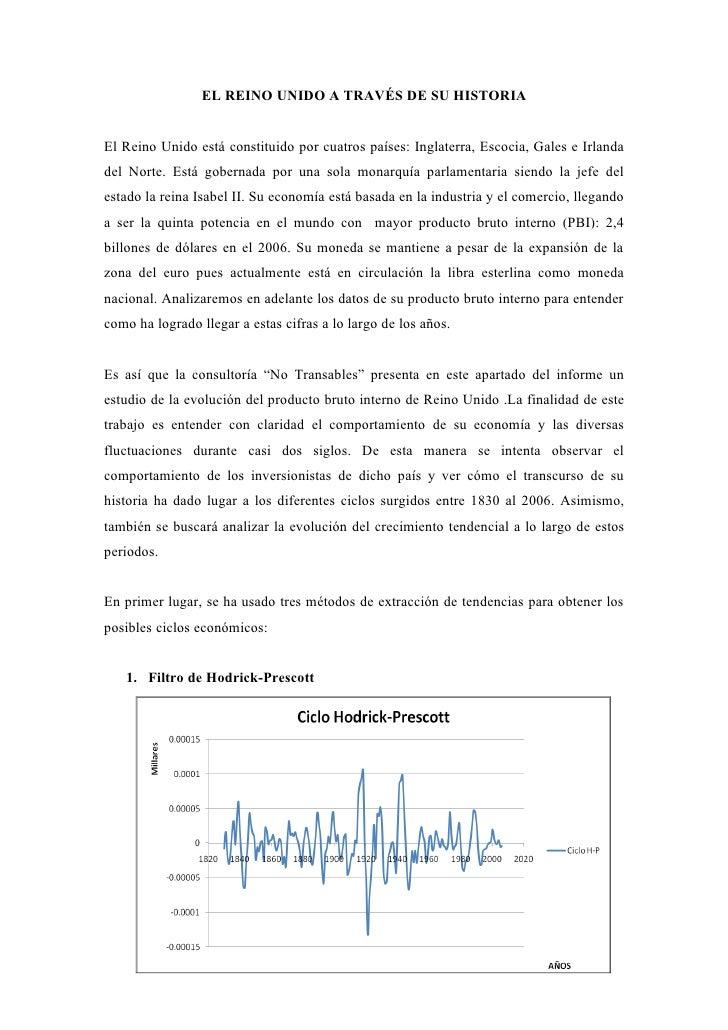 EL REINO UNIDO A TRAVÉS DE SU HISTORIA