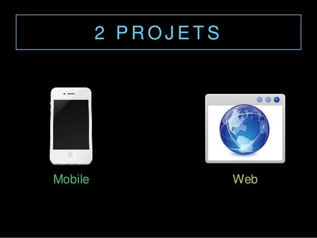 2 P R O J E T S Mobile Web