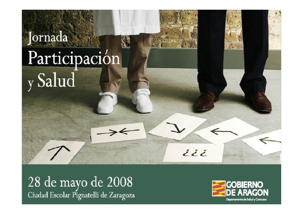 Jornada Participación y Salud
