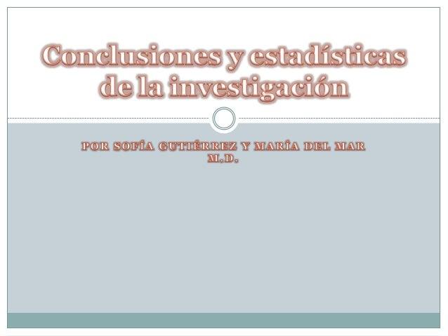 Conclusiones Conclusiones ·   * Las personas entre 12 y 20 años prefieren el reggaetón, el pop, el    rock, y la música ...