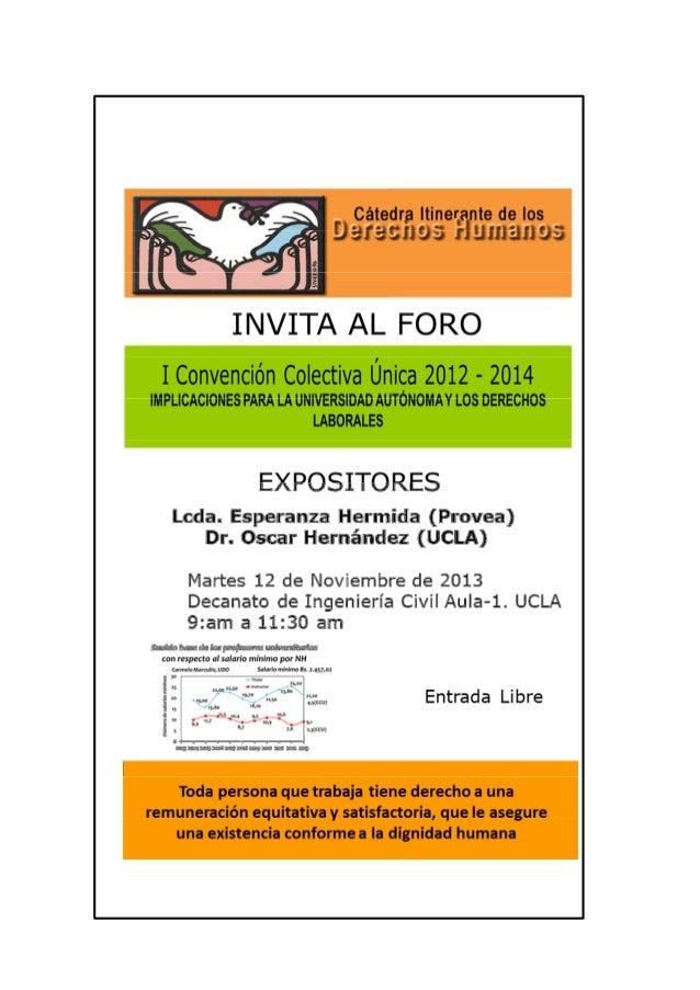 Barquisimeto 12-11-2013 Decanato de Ingeniería Civil-UCLA