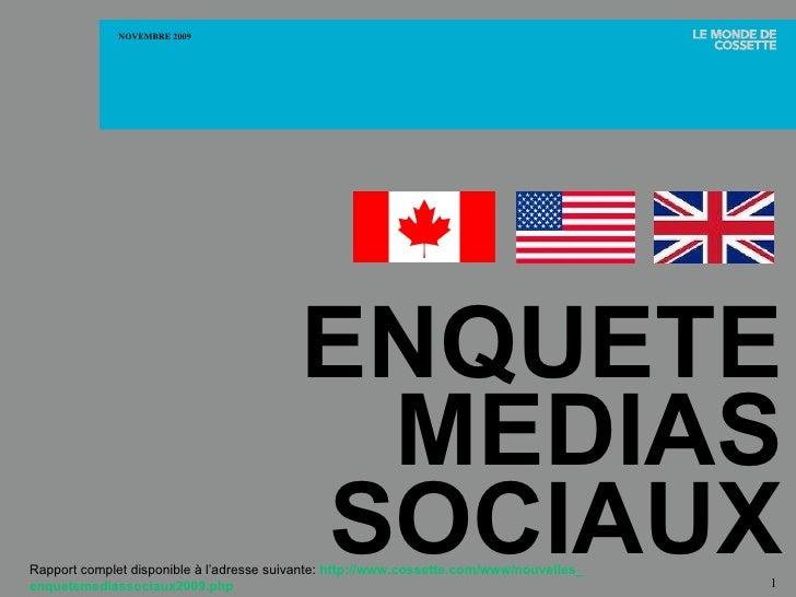 <ul><li>OUI ,   les consommateurs se tournent vers les médias sociaux pour la   nouvelle   et  l'information sur les   pro...
