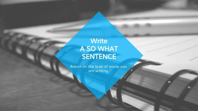 What are the type of essay