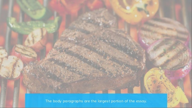 Purposes of the elements of an essay