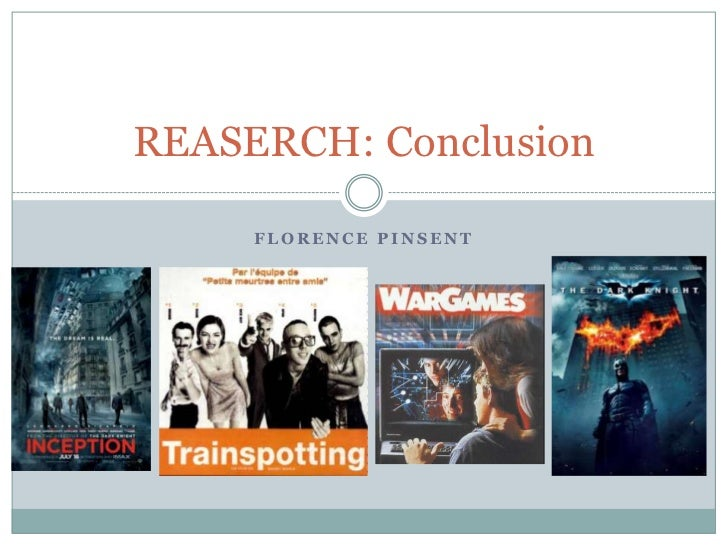REASERCH: Conclusion     FLORENCE PINSENT