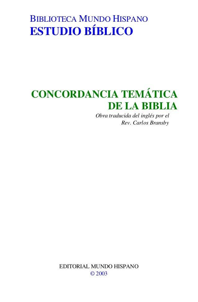 Concordanciatematicadelabiblia