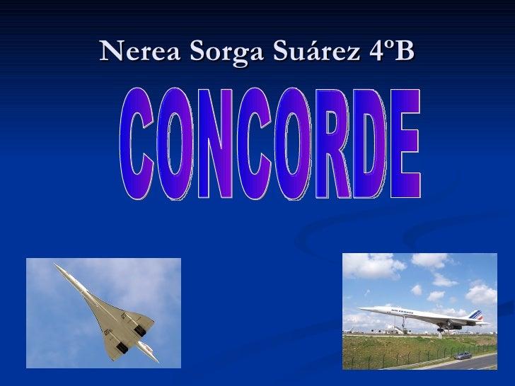 Nerea Sorga Suárez 4ºB CONCORDE