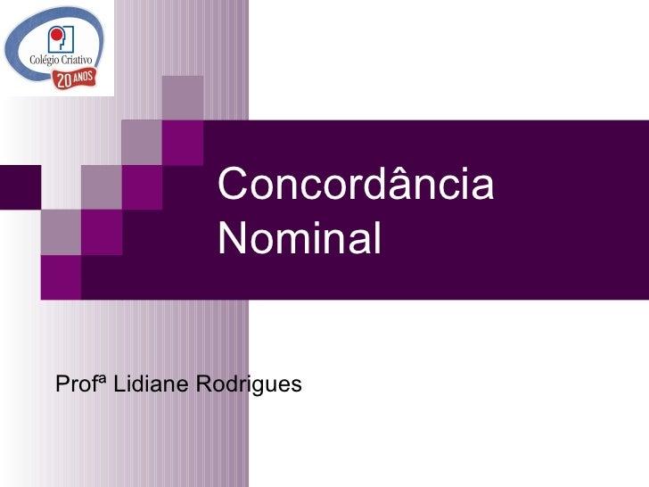 Concordância nominal_9º ano