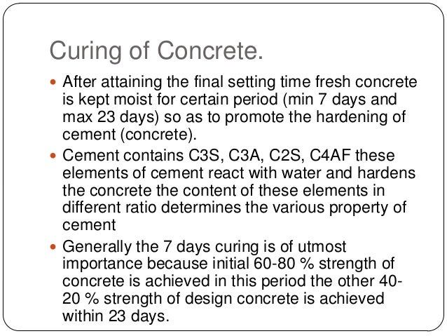 Cement C3a C4af And Hydration In : Basic construction element concrete