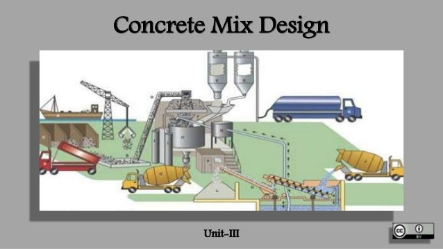 Concrete Mix Design : Concrete mix design